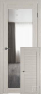 """Межкомнатная дверь """"Атум PRO Х32"""", зеркало, Scansom Oak"""