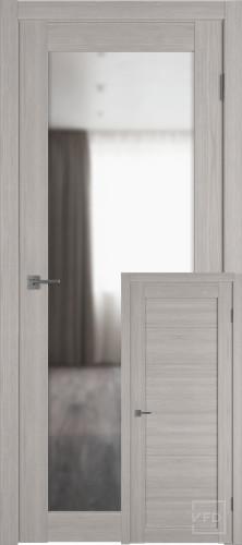 """Межкомнатная дверь """"Атум PRO Х32"""", зеркало, Stone Oak"""