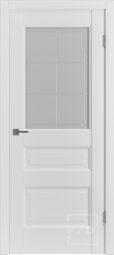 "Межкомнатная дверь ""Emalex 3"", по Emalex Ice"