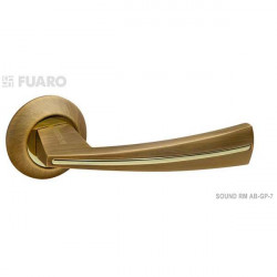 Ручка FUARO SOUND RM, бронза матовая/золото блестящее