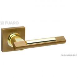 Ручка FUARO TANGO KM, бронза матовая/золото блестящее