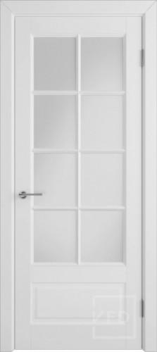 """Межкомнатная дверь """"Гланта Ett"""", по, белый"""