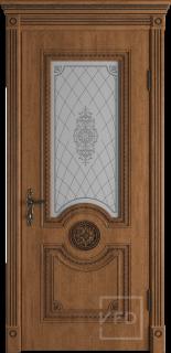 """Межкомнатная дверь """"Greta"""", по, Honey Classic"""