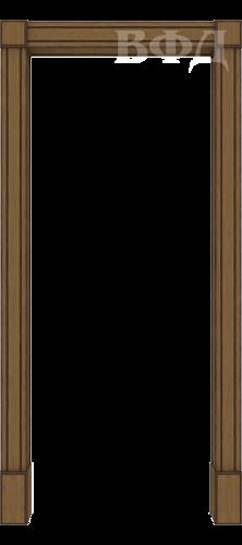 "Межкомнатная арка ""Портал"" орех"