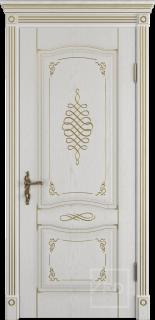 """Межкомнатная дверь """"Vesta"""", пг, Bianco Classic"""