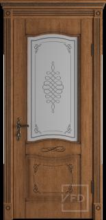 """Межкомнатная дверь """"Vesta"""", по, Honey Classic"""